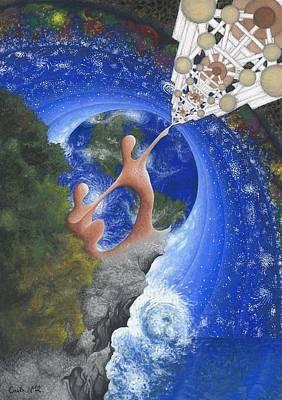 Singularity Cubed Poster by Carla Marina Rudelic