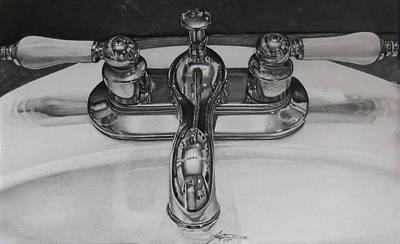 Sink Poster by Tara Aguilar