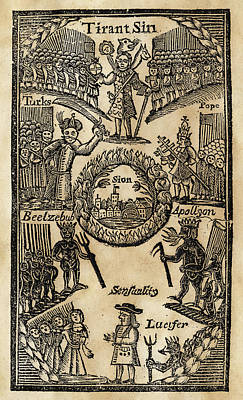 Sinners In Hell, 1744 Poster by Granger