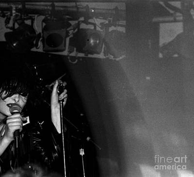 Poster featuring the photograph Siouxsie by Steven Macanka