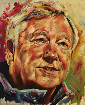 Sir Alex Ferguson Poster by Tachi Pintor