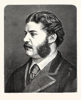 Sir Arthur Seymour Sullivan Mvo, 13 May 1842  22 November Poster by English School