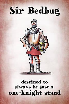 Sir Bedbug Poster