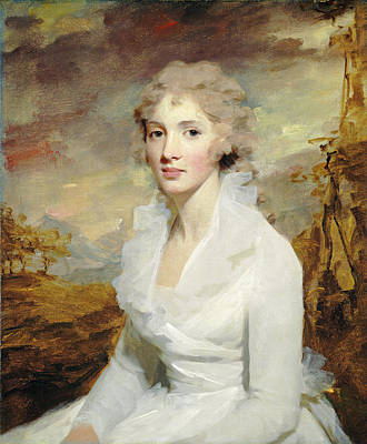 Sir Henry Raeburn, Miss Eleanor Urquhart Poster by Litz Collection