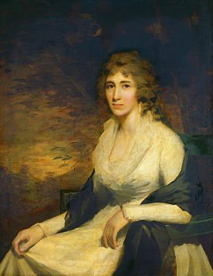 Sir Henry Raeburn, Mrs. George Hill, Scottish Poster by Quint Lox