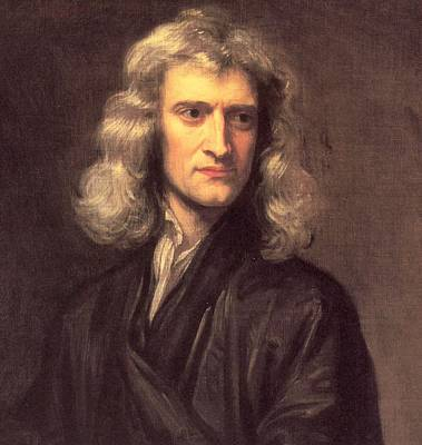 Sir Isaac Newton Poster by Godfrey Kneller