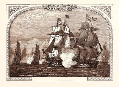 Sir John Jervis Action Off Cape St. Vincent Poster