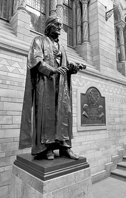 Sir Richard Owen, Museum Statue Poster by Science Photo Library