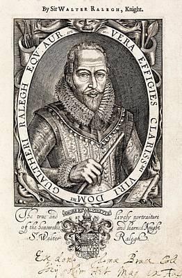 Sir Walter Raleigh Poster