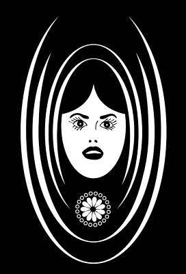 Siren Poster by Frank Tschakert