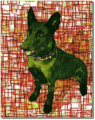 Sissy The Working Dog Poster