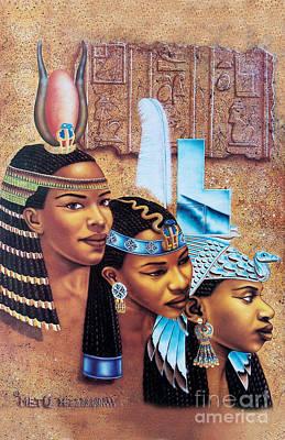 Sister-goddess Poster by Artist Metu