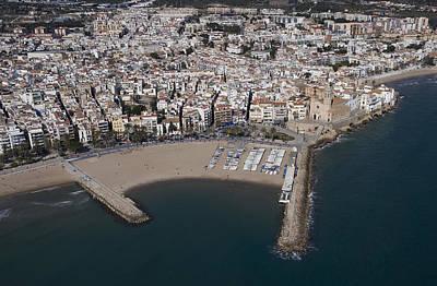 Sitges, Catalonia Poster by Jordi Todó