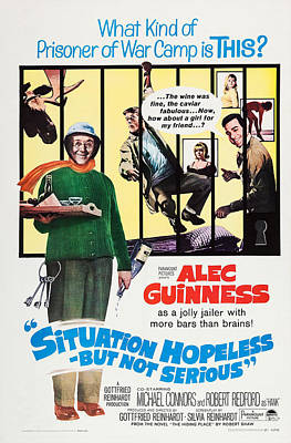 Situation Hopeless But Not Serious, Us Poster by Everett