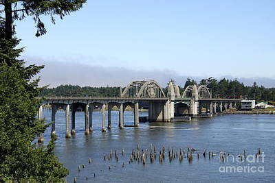 Siuslaw River Bridge - Florence  Poster by Christiane Schulze Art And Photography