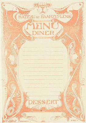 Six Copies Printed In Different Colors, Signed For Dinner Poster by Artokoloro