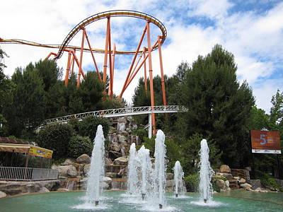 Six Flags Magic Mountain - 12124 Poster