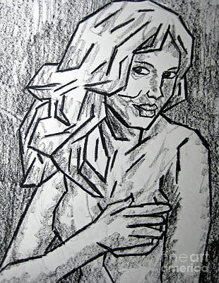Sketch - Nude 2 2011 Series Poster by Kamil Swiatek