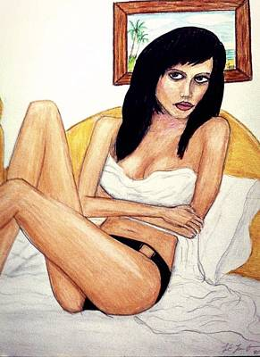 Sketches In Color Pencil I  Poster by Larry Lamb
