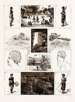 Sketches In Fiji, And In The Island Of Rotumah, 1881 1 Poster