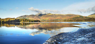 Skiddaw Reflections 2 Poster by Linsey Williams