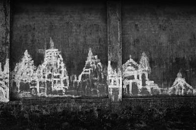 Poster featuring the photograph Skc 0003 Temple Complex by Sunil Kapadia