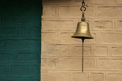 Poster featuring the photograph Skc 0005 A Doorbell by Sunil Kapadia