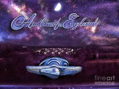 Sky At Night Poster by Gillian Singleton