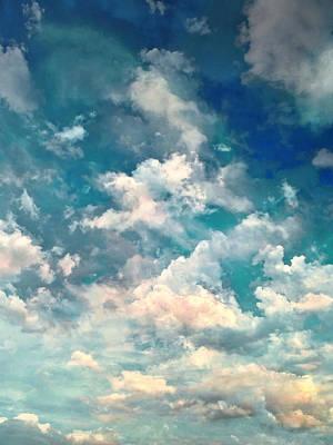 Sky Moods - Refreshing Poster by Glenn McCarthy