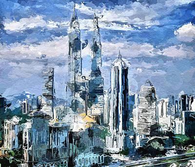 Sky Skyline Poster by Yury Malkov