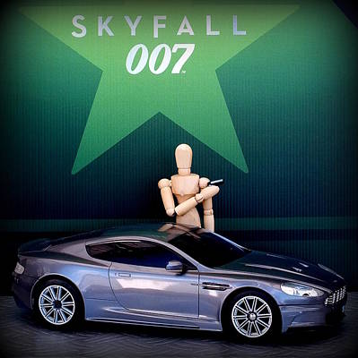 Skyfall Poster by Guy Pettingell