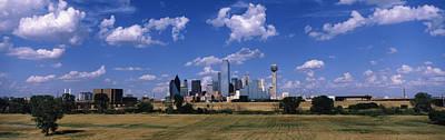 Skyline Dallas Tx Usa Poster