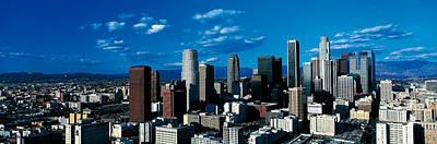 Skyline From Transamerica Center Los Poster