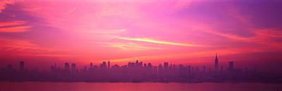 Skyline, Nyc, New York City, New York Poster