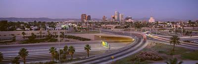 Skyline Phoenix Az Usa Poster by Panoramic Images