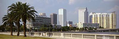 Skyline Tampa Fl Usa Poster