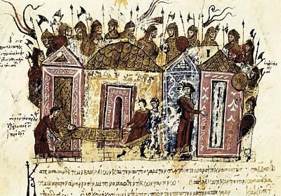 Skylitzer, John 9th Century. Madrid Poster by Everett