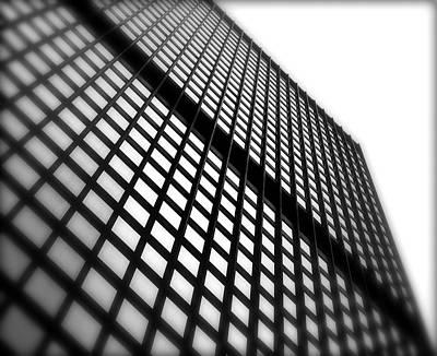 Skyscraper Facade Poster by Valentino Visentini