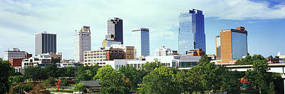 Skyscrapers In A City, Little Rock Poster