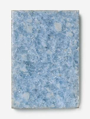Slab Of Blue Marble Poster by Dorling Kindersley/uig