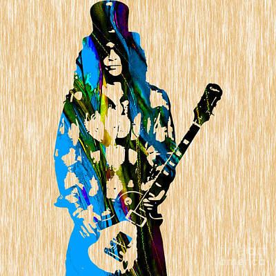 Slash Original Paintings Poster