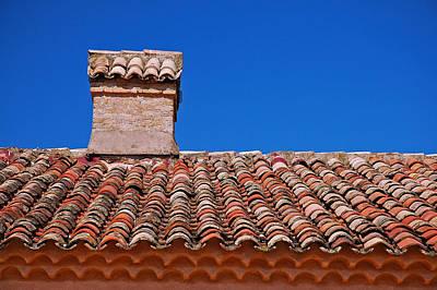 Slate Roof Poster