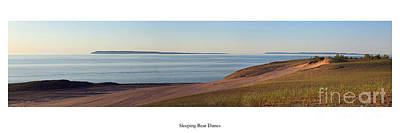 Sleeping Bear Dunes And Manitou Island Poster