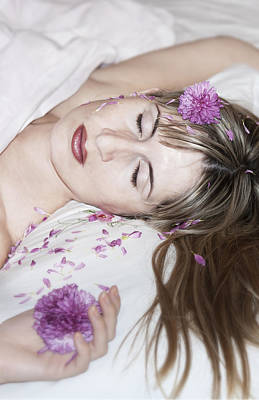Sleeping Beauty Poster by Svetlana Sewell