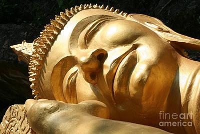 Sleeping Buddha Poster by Nola Lee Kelsey