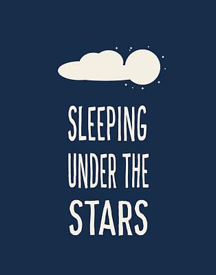 Sleeping Under The Stars Poster