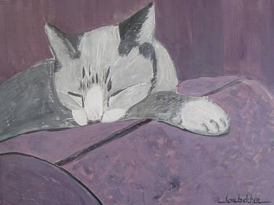 Sleepy Poster by Lou Belcher