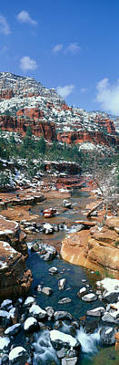 Slide Rock Creek In Wintertime, Sedona Poster by Panoramic Images