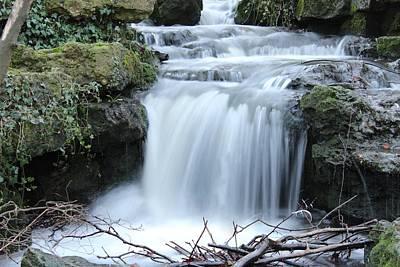 Slinky Waterfall Poster