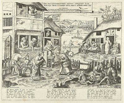 Sloths, Frans Huys, Cornelis Massijs, Joannes Galle Poster